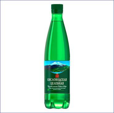 Вода Кисловодская питьевая газированная целебная ,500 мл.,ПЭТ