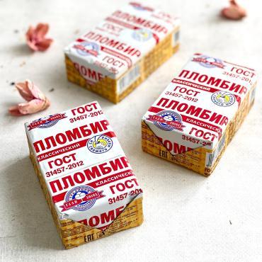 Мороженое филевский брикет на вафлях Крем-брюле Десерт фентези, 80 гр., бумажная упаковка