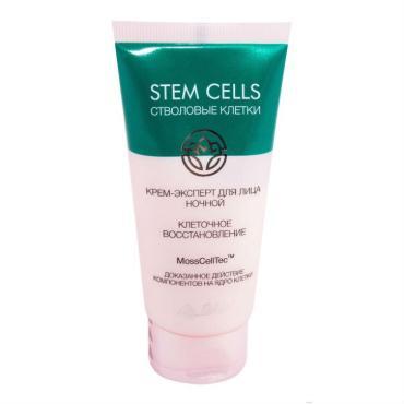 Крем-эксперт для лица ночной клеточное восстановление Liv Delano Stem Cells, 50 гр., пластиковая туба