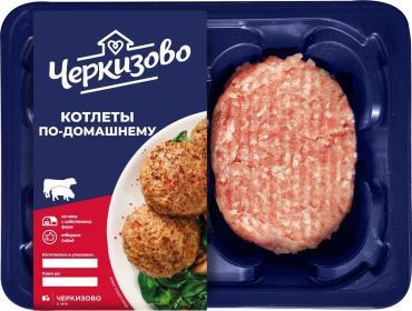 Котлеты домашние свин/говяж., Черкизово, 400 гр., подложка