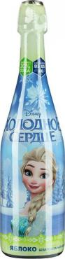 Детское шампанское Disney Холодное сердце яблоко, 750 мл., стекло