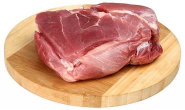 Лопатка свиная, охл., б/к., в/у., Черкизово, 17,5 кг., картонная коробка