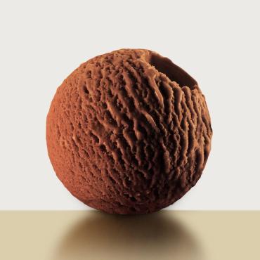 Мороженое бельгийский шоколад Глацио, 1 кг., пластиковый контейнер