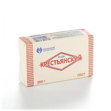 Спред 72,5% Крестьянский , 200 гр., обертка фольга/бумага