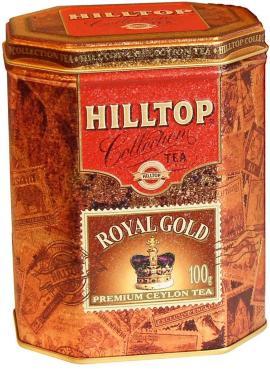 Чай черный Hilltop Листовой Royal Gold