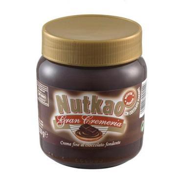 Шоколадно-ореховая паста, Nutkao, 350 г., стекло