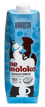 Напиток Nemoloko кокосовый на рисовой основе, обогащенный витаминами и минеральными веществами Бариста, 1 л., тетра-пак