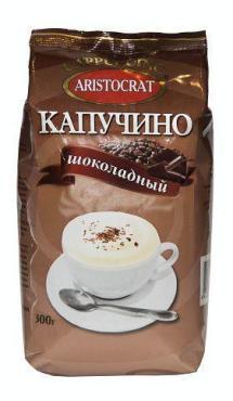 Капучино шоколадный Aristocrat, 300 гр., пластиковый пакет