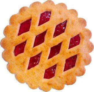 Печенье вкус клубники Шоколенд Любимое лукошко, 3 кг., картонная коробка