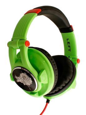Наушники Wicked Queen Green, Fischer Audio, 692 гр., пластиковая коробка