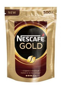 Кофе Nescafe Голд 500 гр., дой-пак