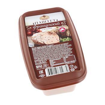Паштет с ягодами Рублёвский Французский 200 гр., пластиковый контейнер
