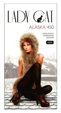 Колготки 450 den черный, 3 размер, Lady Cat Alaska, картон