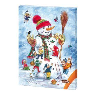 Шоколад молочный Шоколадный календарь (Снеговик), , Chocoland, 50 гр., картон