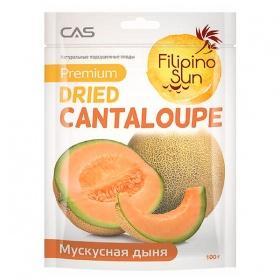 Плоды мускульной дыни сушеные, Filipino Sun, 100 гр., флоу-пак