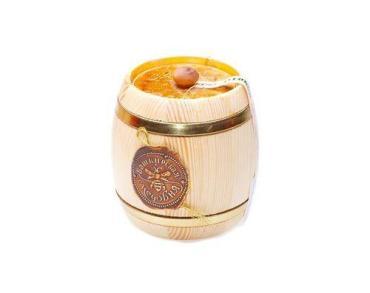 Мёд Башкирская медовня светлый цветочный, 900 гр, подарочная упаковка