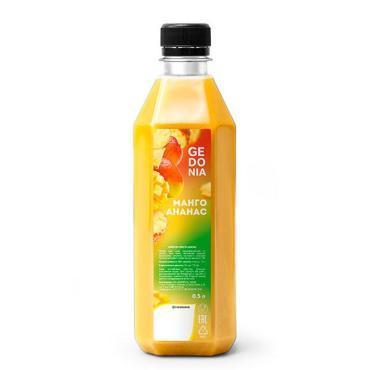 Морс манго и ананас Gedonia, 500 мл., ПЭТ