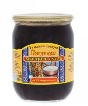 Концентрат квасного сусла Тульский продукт, 550 гр., стекло