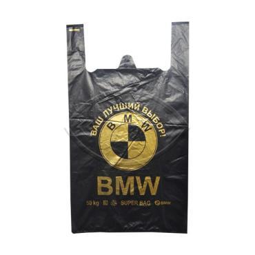 Пакет майка особо крепкий БМВ 42*65 1\100, пакет
