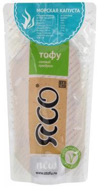 Тофу Морская капуста ЯСО, 175 гр., вакуумная упаковка
