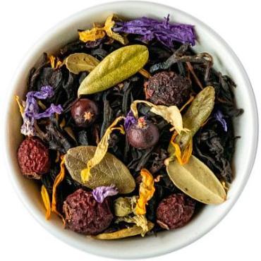 Чай чёрный с добавками Таежный сбор Chef Tea, 1 гр.