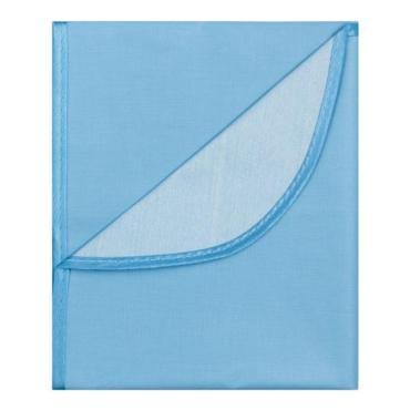 Клеенка подкладная с ПВХ покрытием с окантовкой голубая х 1 м, Колорит, 150 гр., пакет