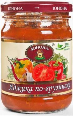 Аджика По-грузински, Юнона, 520 гр., ж/б