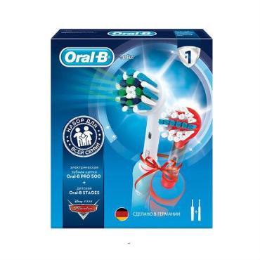 Электрическая зубная щетка D12.513K Cars + ProfCare Oral-B, картон