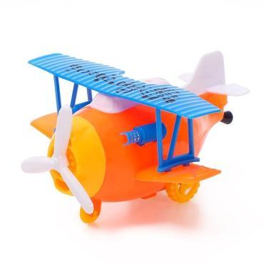 Заводная игрушка цвета микс Самолет