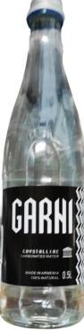 Вода питьевая родниковая газированная Garni, Армения, 500 мл., стекло