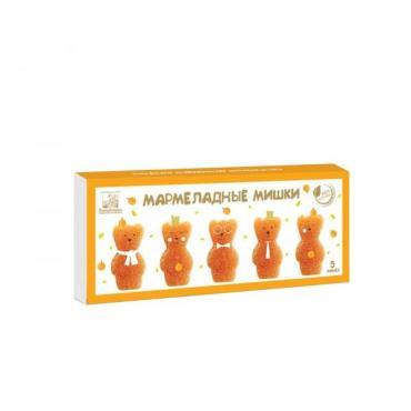 Мармелад абрикосовый, Коломчаночка Мармеладные мишки, 155 гр., картон