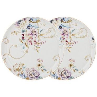 Набор обеденных тарелок, 2 штуки, диаметр 23,5 см., Lefard Завтрак у короля