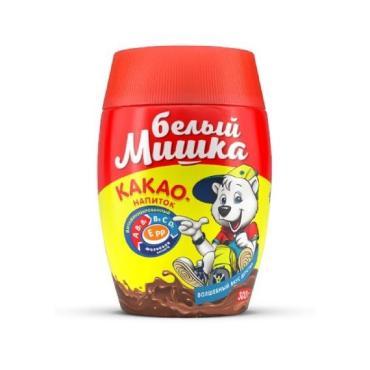 Какао Белый Мишка 300 гр., пластиковая банка