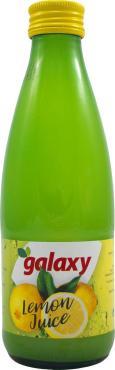 Сок Galaxy лимонный 100%, 250 мл., ПЭТ