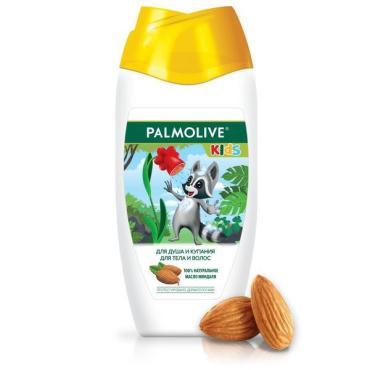 Гель для душа и купания для тела и волос с миндалем, для детей от 3 лет, Palmolive, 250 мл., ПЭТ