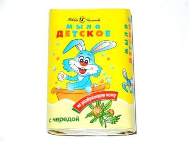 Детское мыло Невская косметика Череда, 90 гр., картон