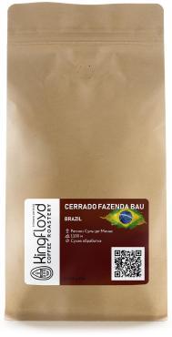 Кофе в зернах свежеобжаренный KINGFLOYD Бразилия Серрадо Фазенда Бау, 500 гр., пакет с клапаном