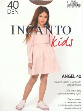 Колготки детские Incanto Kids Angel 40 den, цвет Daino, размер 128-134, пластиковый пакет