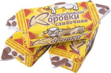 Конфеты Сладовянка Коровка сливочная, 4 кг, картон