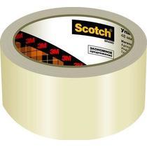 Упаковочная лента Scotch Эконом прозрачная 48ммх50м