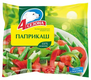 Смесь Паприкаш, 4 Сезона