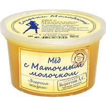 Мед с маточным молочком, Берестов А.С., 350 гр., Пластиковая банка
