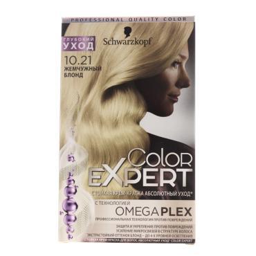 Краска Color Expert для волос оттенок 10.21 Жемчужный блонд