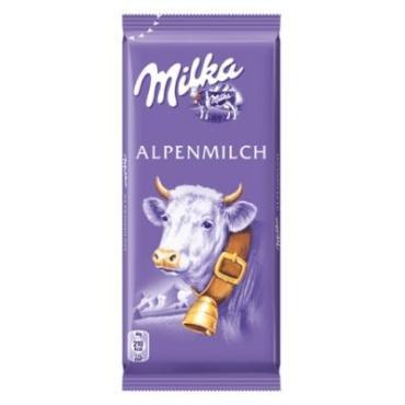 Шоколад Milka Alpenmilch