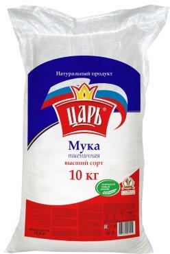 Мука Царь пшеничная хлебопекарная высший сорт