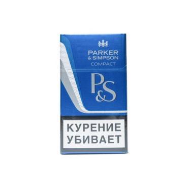 Сигареты Parker&Simpson Compact Blue, картонная пачка
