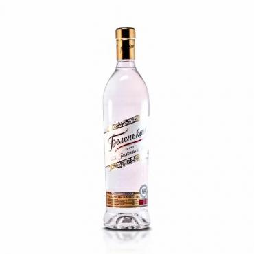 Водка Беленькая Золотая на спирте Альфа 40%