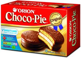 Мучное кондитерское изделие 2х4 шт. ,Choco Pie, 120 гр., картон