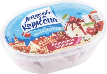 Мороженое Колибри Лекарство для Карлсона со вкусом вишни