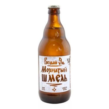 Пивной напиток Мохнатый шмель Белый эль нефильтрованный 4,6%